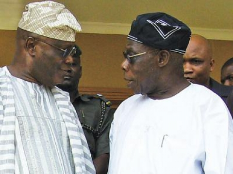 Image result for Obasanjo - Atiku
