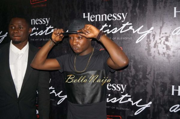 "4.BellaNaija Hennessy Artistry Lagos Nigeria 2014 600x398 1st Time Ever! Wizkid & 2Face perform ""Dance Go"" + Lil Kesh does ""Shoki"" 