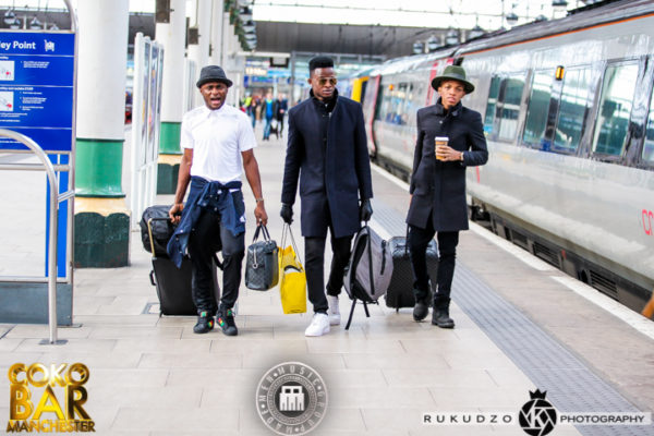 IMG 2034 600x400 Iyanya, Tekno, Selebobo, Emma Nyra & Ubi Franklin Take the Streets in Style as UK Tour Begins