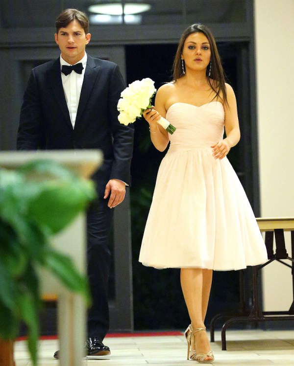 Mila Kunis and Ashton Kutcher Wedding
