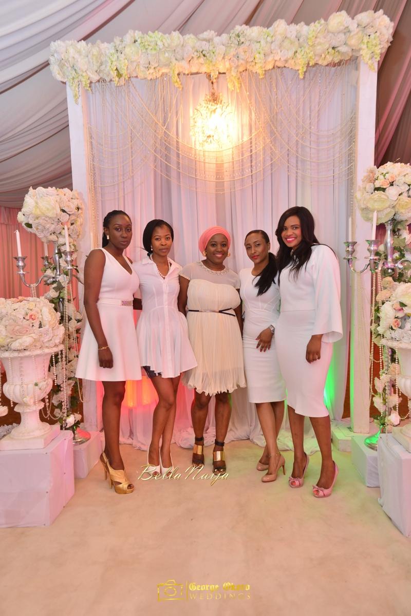 All White Bridal Shower
