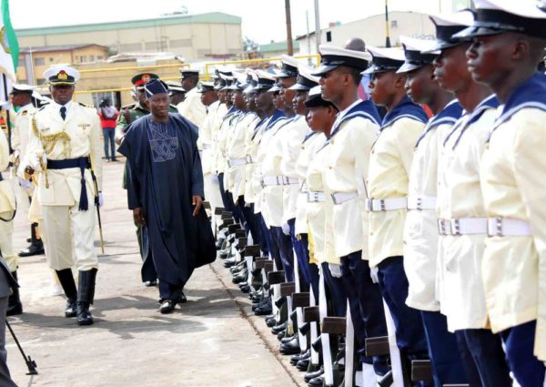 PIC. 7. INAUGURATION OF 4 NAVAL WARSHIPS IN LAGOS 600x425 Pres. Jonathan Inaugurates 4 Nigerian Navy Ships | Promises to Conquer Boko Haram