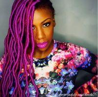 Grey Colored Marley Hair | hairstylegalleries.com