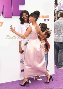 Audrey Hepburn Inspired Rihanna Chic Premiere
