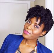 easy natural hairstyles work