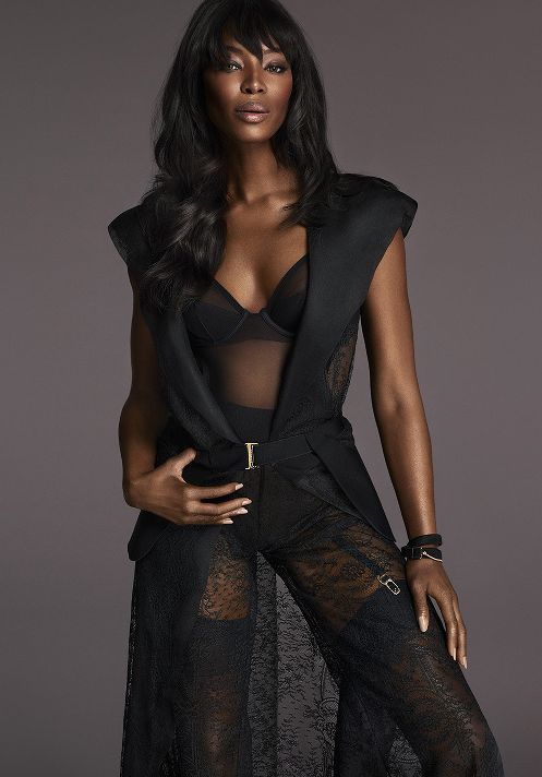 Naomi Campbell for La Perla FW2015 Campaign - BellaNaija - June2015