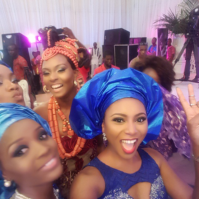 Stephanie Coker at Osas & Gbenro's Traditional Wedding 2