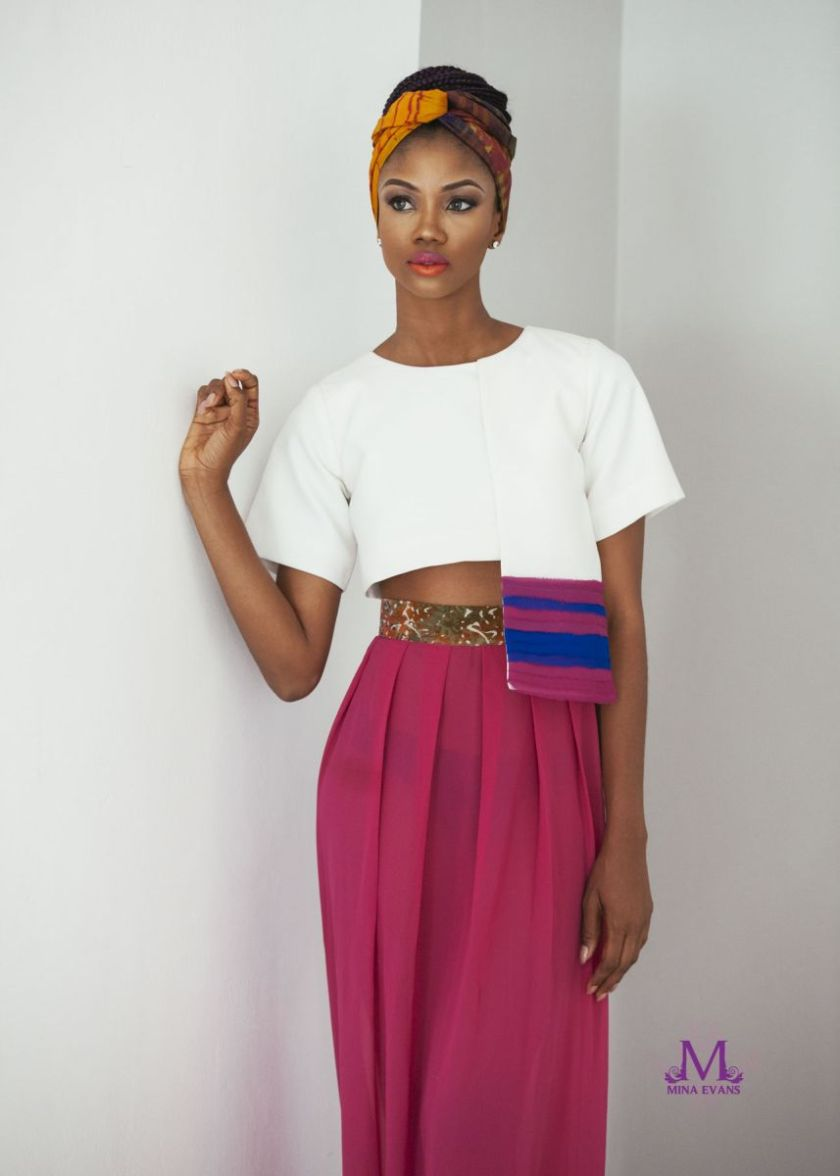 Mina Evans Spring Summer 2015 Collection Lookbook - Bellanaija - July2015002