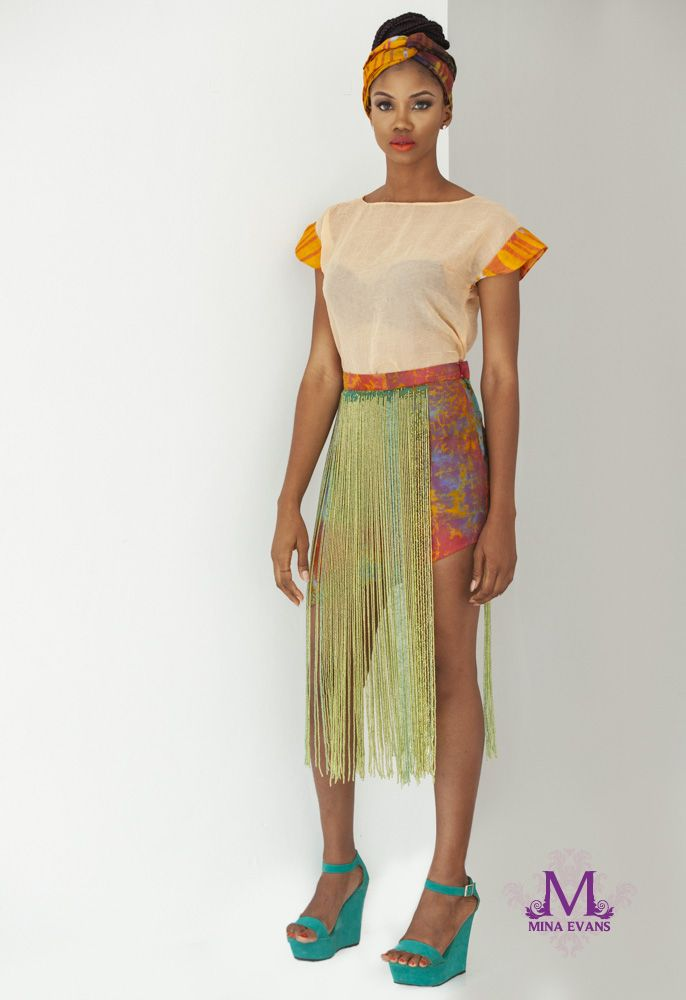 Mina Evans Spring Summer 2015 Collection Lookbook - Bellanaija - July2015004