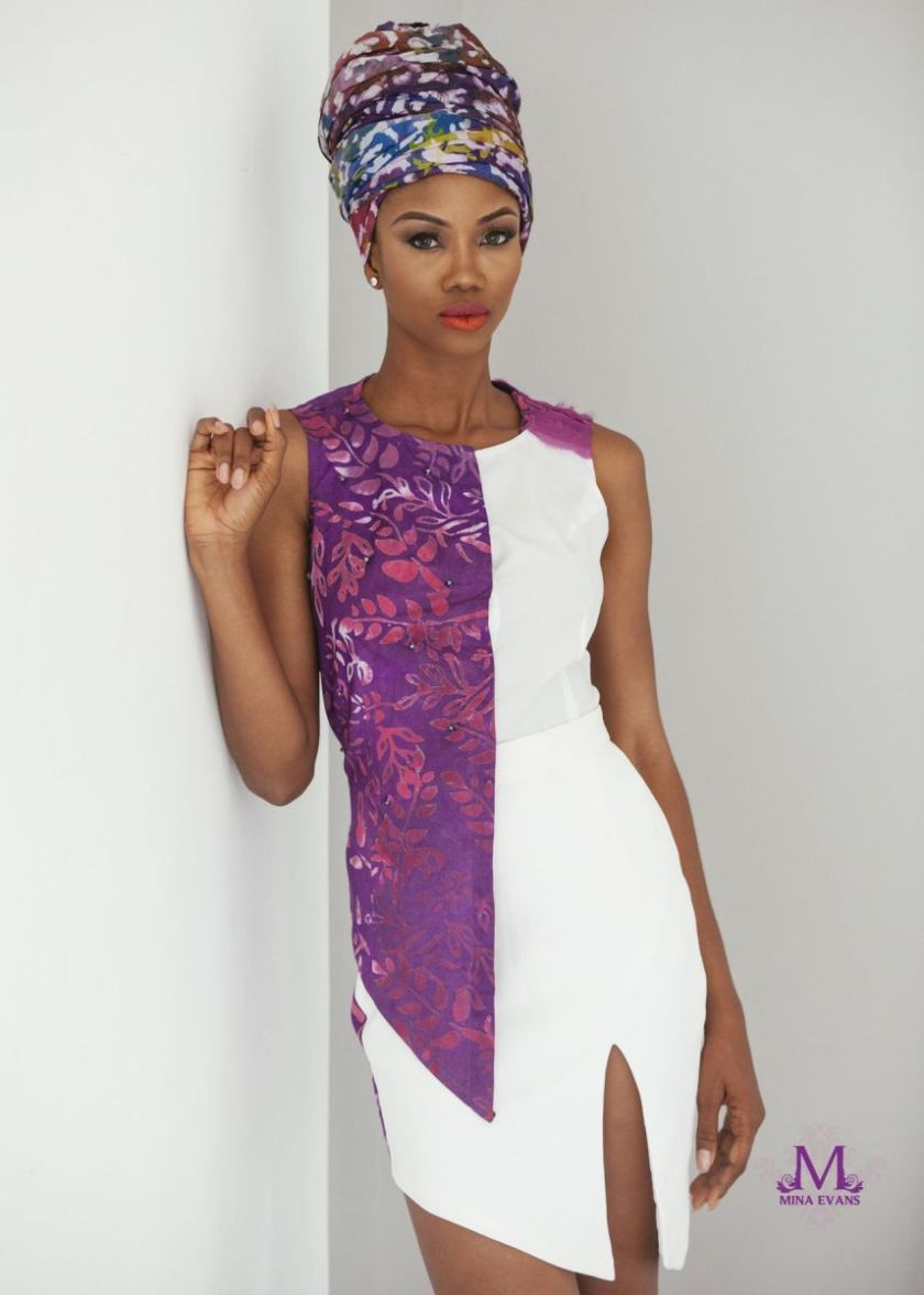 Mina Evans Spring Summer 2015 Collection Lookbook - Bellanaija - July2015009