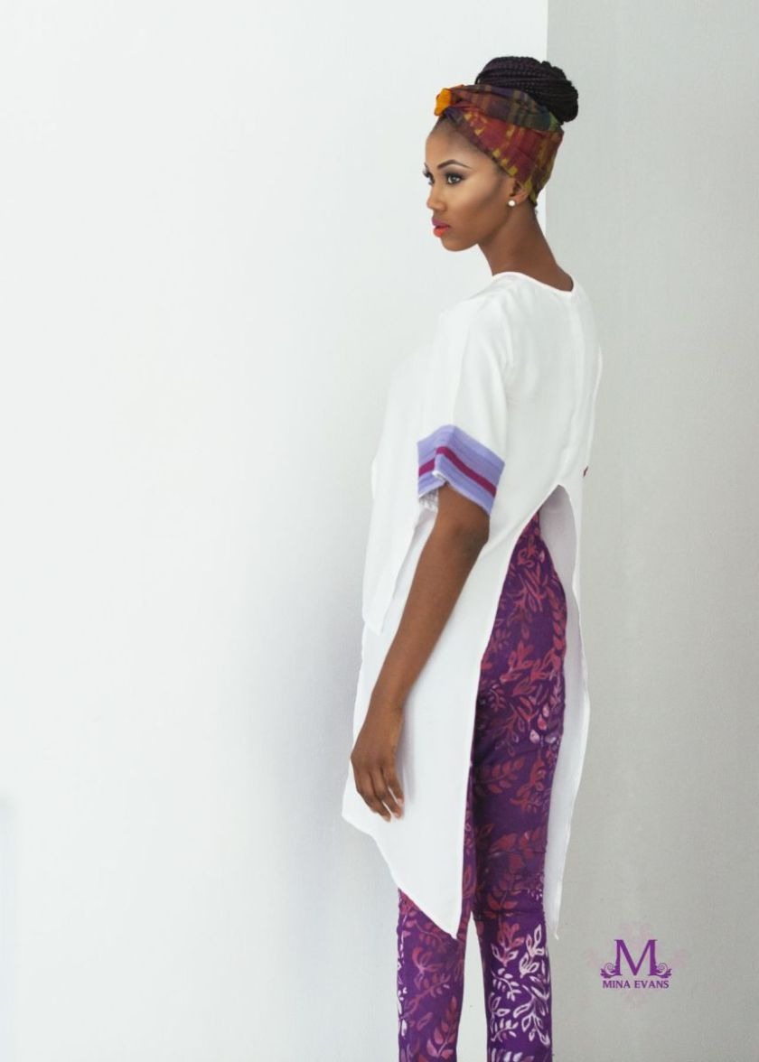 Mina Evans Spring Summer 2015 Collection Lookbook - Bellanaija - July2015010
