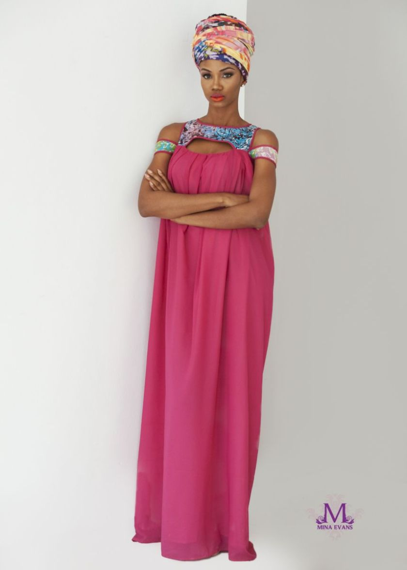 Mina Evans Spring Summer 2015 Collection Lookbook - Bellanaija - July2015012
