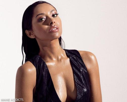 Kat Graham for Mane Addicts October 2015 Edition - BellaNaija - October 2015
