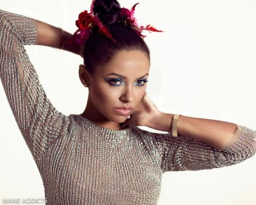 Kat Graham for Mane Addicts October 2015 Edition - BellaNaija - October 2015001