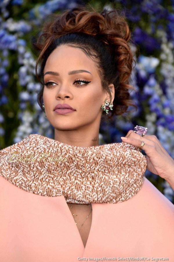 Dior Fashion Show Rihanna