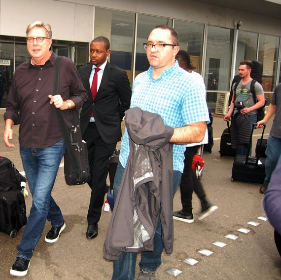 The Experience 2015 Airport Arrival 1