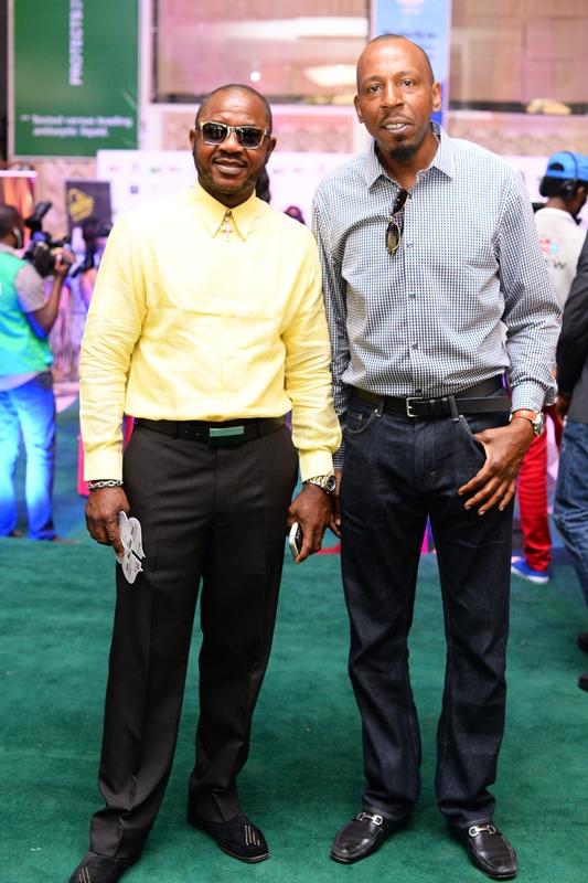 Dominic Oziegbe, GM Anita Energy and Ishmael Omolade, Producer for Endgame Media