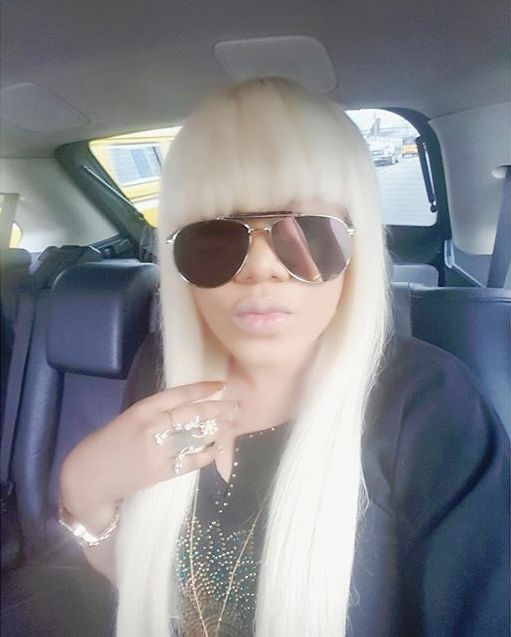 Toyin Aimakhu_Blonde_Feb 2016 6