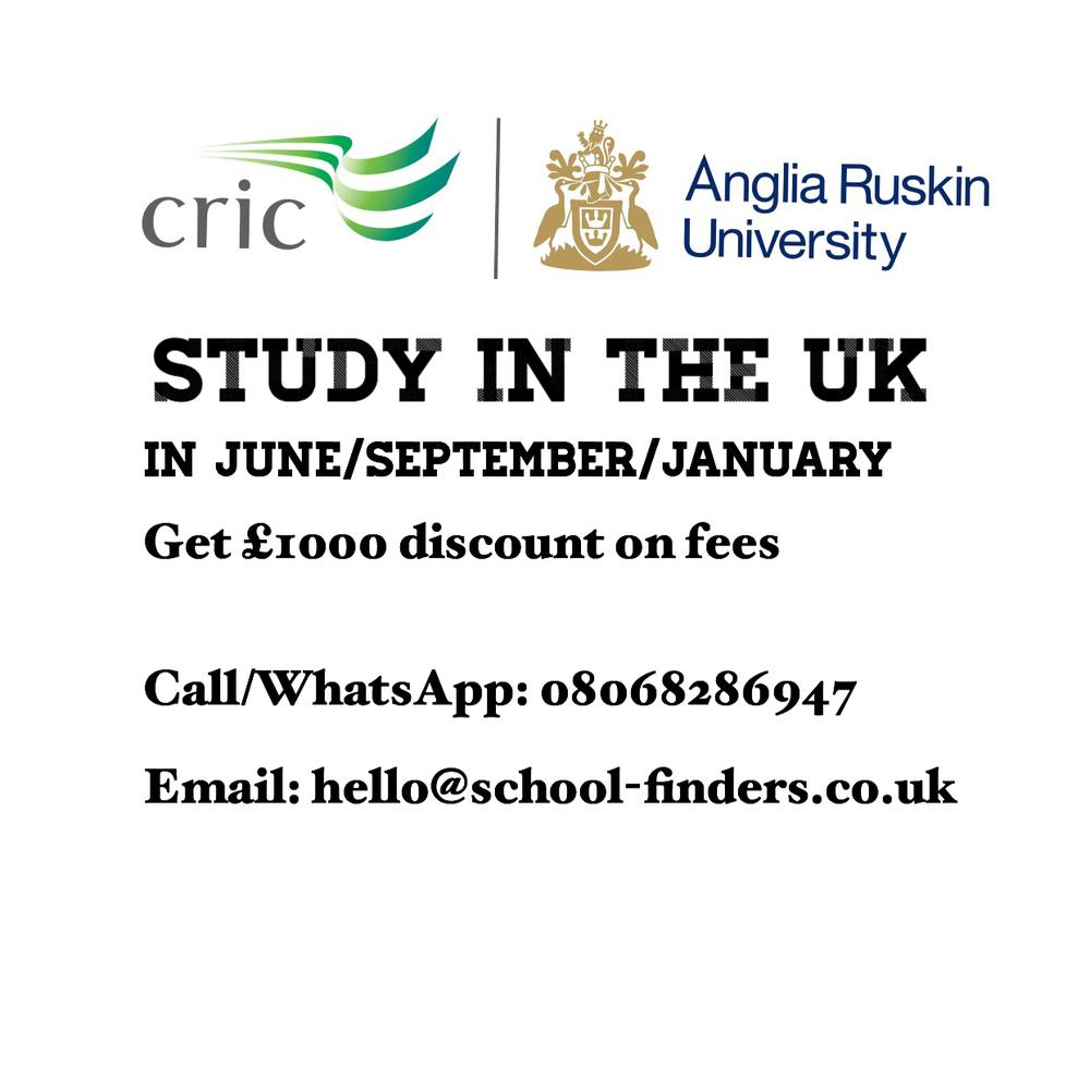 You Could be in the UK for your Undergraduate or Masters