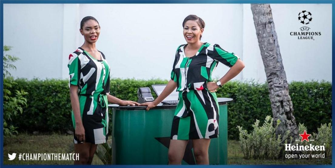 Heineken Hostesses