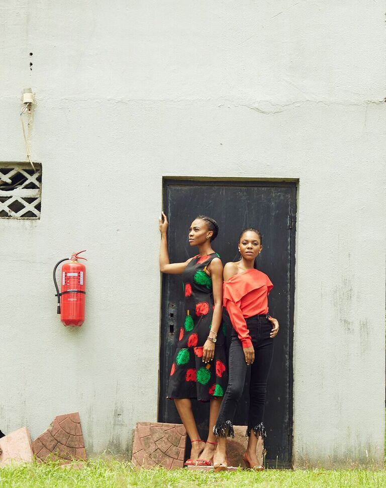 NEW MEDIA WOMEN - Oge Agu & Nkem Marchie 2
