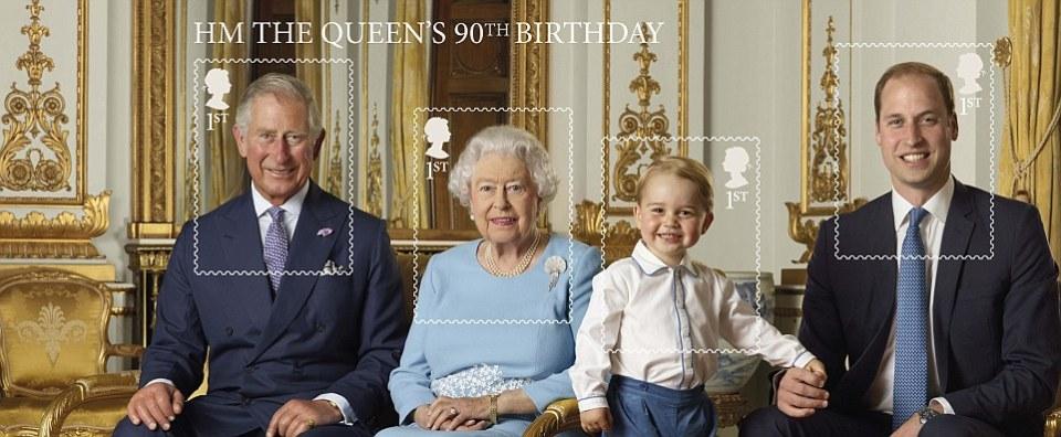 Queen Elizabeth 90 1
