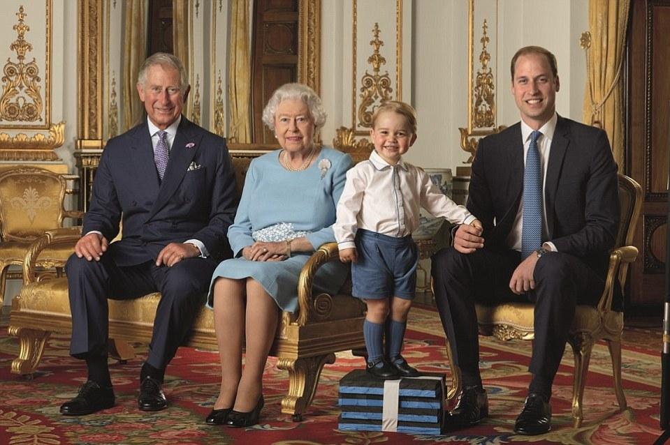 Queen Elizabeth 90