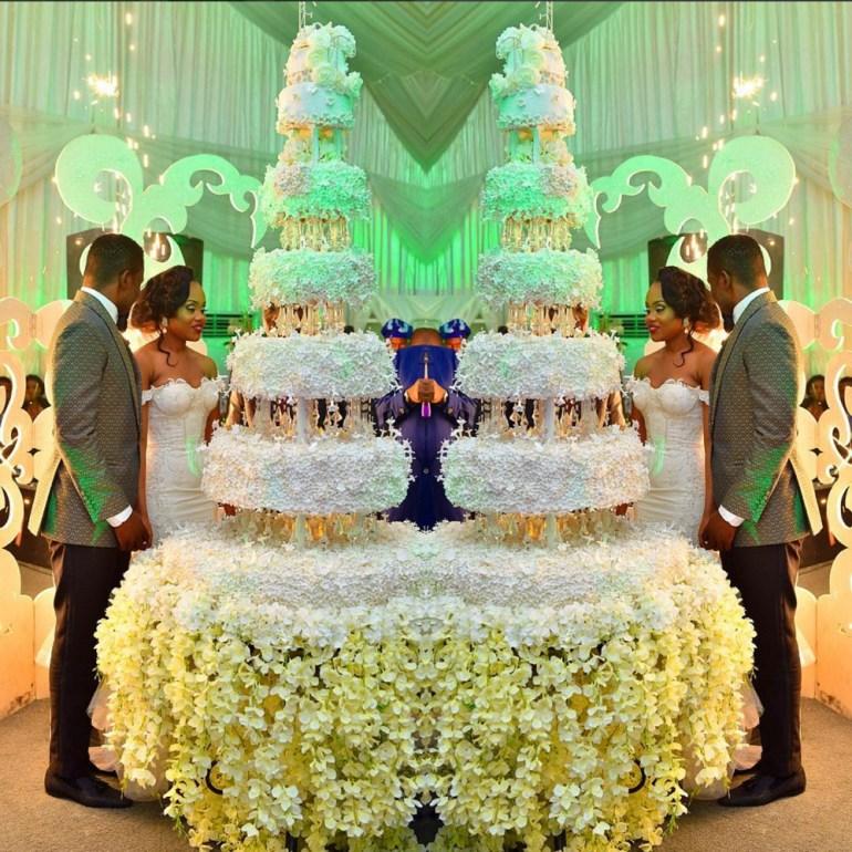 Nigerian Wedding cakes