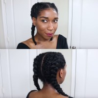 #BNFroFriday: Learn how to Cornrow Braid your Hair with ...