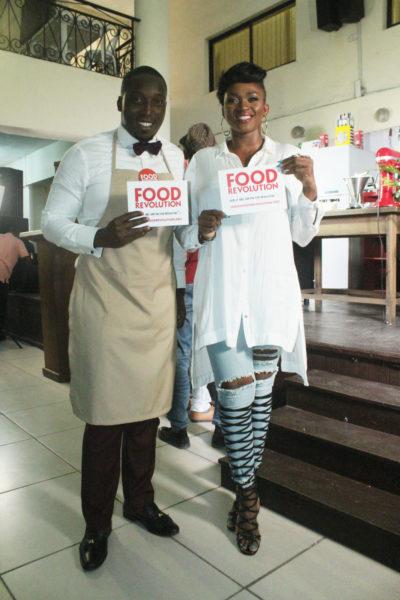 Waje and Chef Eros