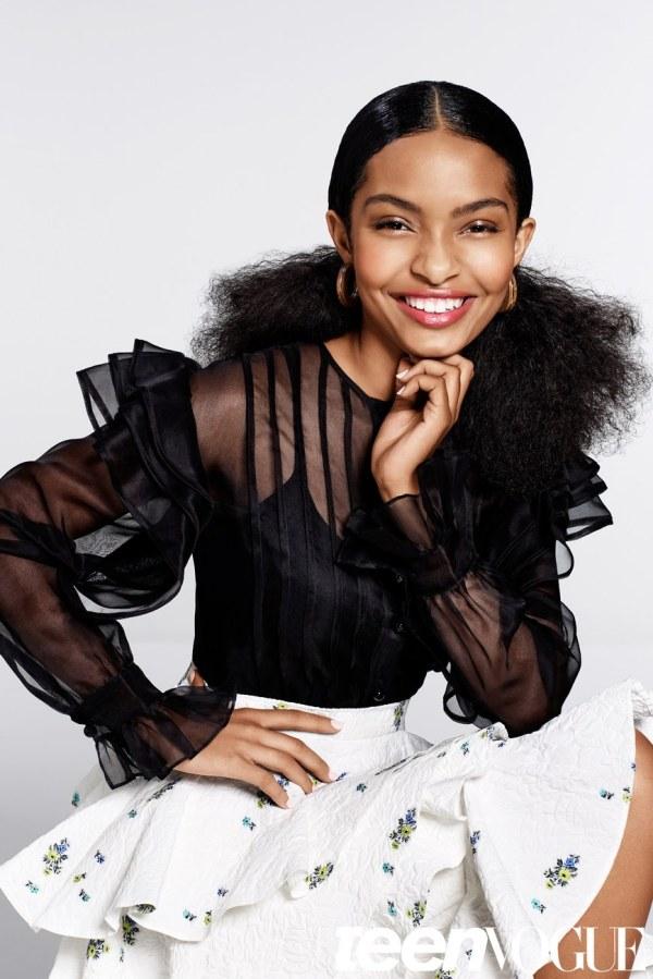 "Bn Beauty 5 Ways ""black-ish"" Star Yara Shahidi Styles Natural Hair Bellanaija"