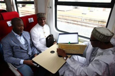 President Buhari Commissions Abuja-Kaduna Rail5