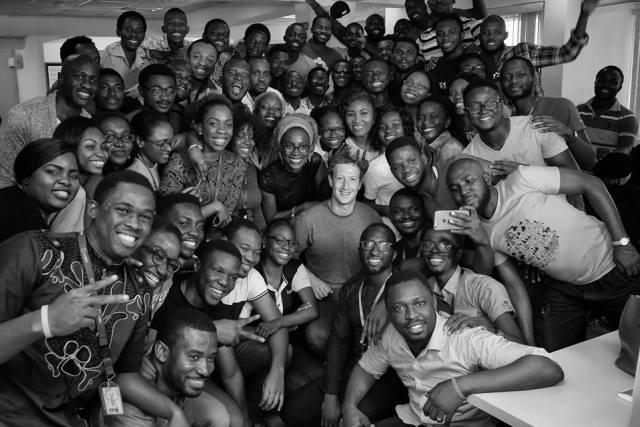 Engineers at Andela in Lagos.