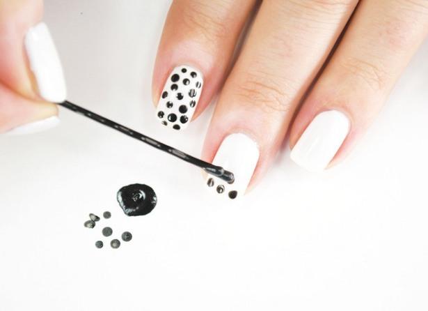 Nail Art Dots Bellanaija