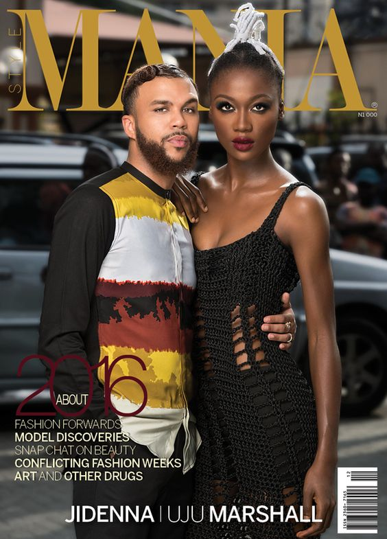 """Image result for Jidenna, Uju Marshall cover StyleMania's """"About 2016"""" issue"""