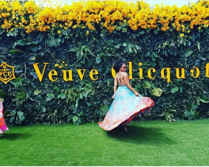 South African Actress Nomzamo Mbatha is a Visual Perfection for Verve Clicquot's Event