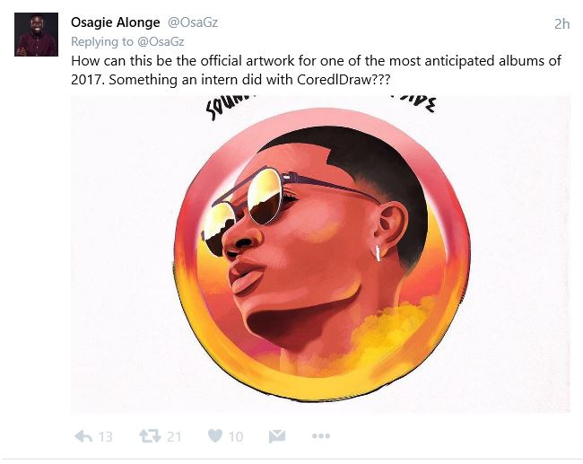 "BellaNaija - Wizkid unveils Official Artwork for ""Sounds From The Other Side"""