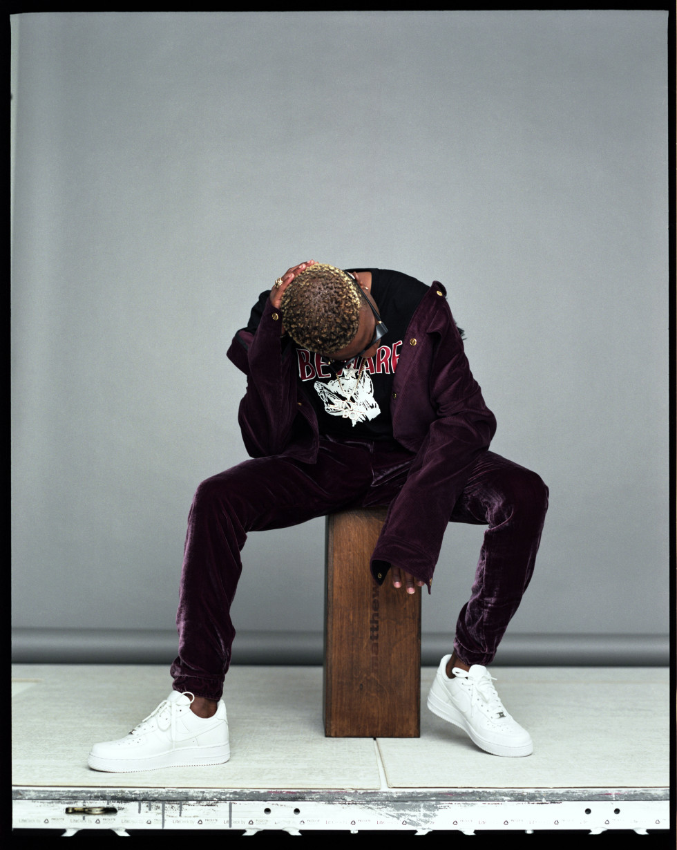 BellaNaija - Starboy Ting! Wizkid gets featured on Hunger Magazine | See Photos