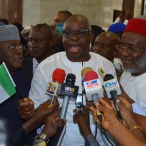 Image result for Nigerians yet to find alternative to PDP - Fayose