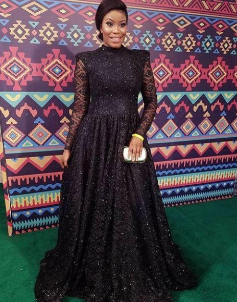amaEse - African Movie Academy Awards 2017 photos by Stephanie Linus, Bimbo Akintola, Somkele Idhalama