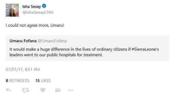 BellaNaija - CNN Reporter Isha Sesay testifies to efficiency of Nigerian Healthcare System