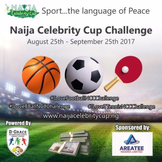 Naija Celebrity Cup Fan Challenge: www.medianet.info
