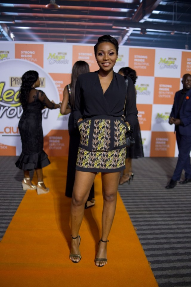 Dimma Umeh - Tiwa Savage shut down the Profectiv MegaGrowth #MegaParty with her Performance