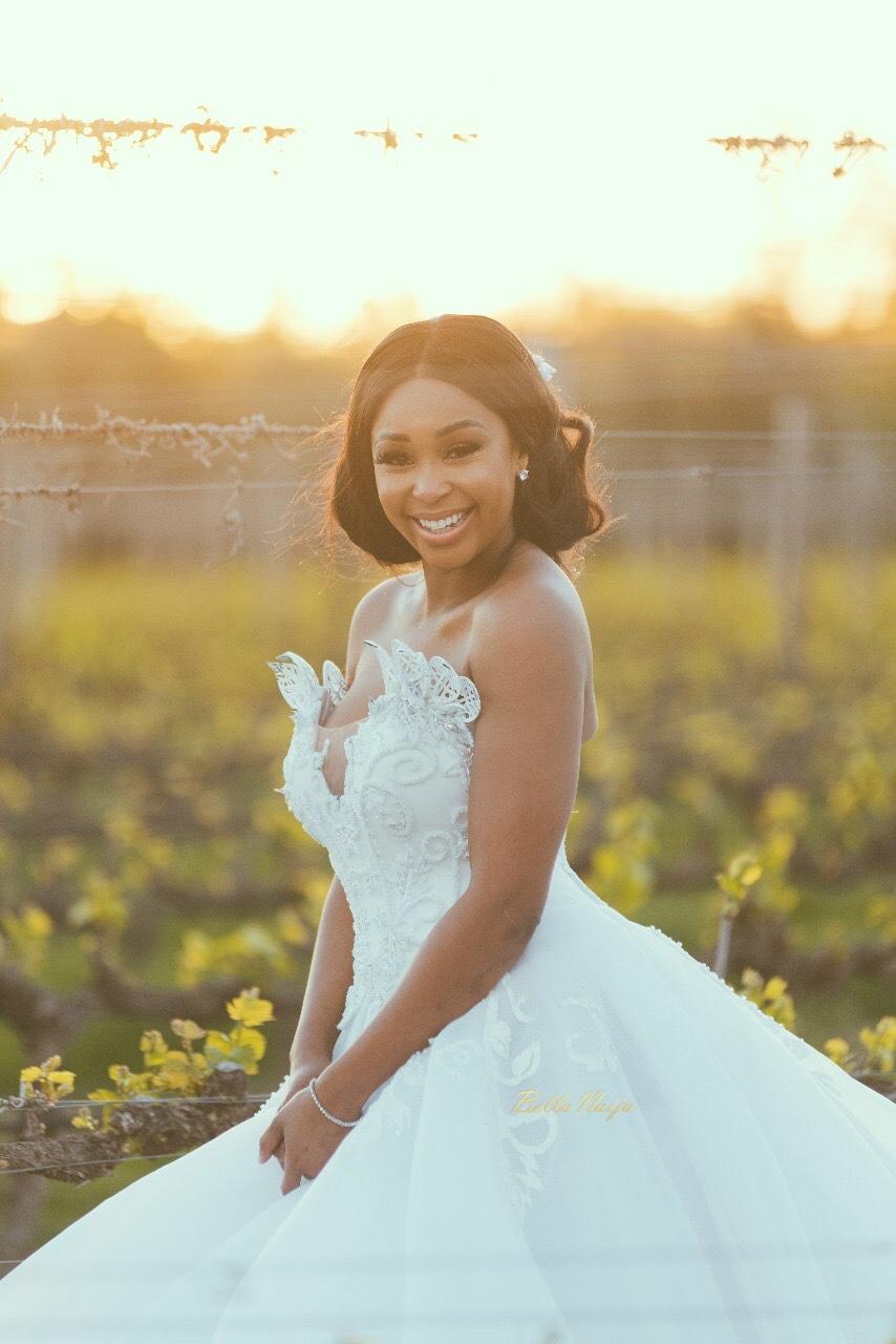 BecomingMrsJones First Look at Minnie Dlamini  Quinton Jones Fairytale Wedding  BellaNaija