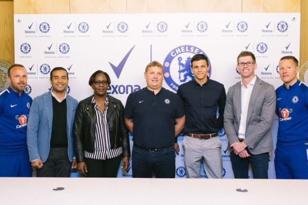 Rexona announces partnership with Chelsea Football Club