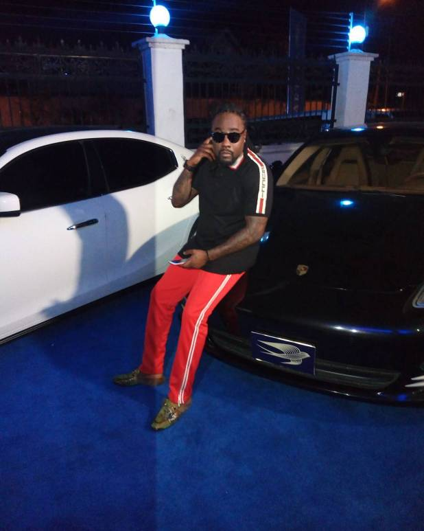 Wale parties with Wizkid, Toolz, M.I in Lagos
