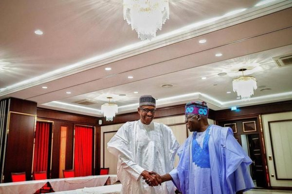 Punch: Buhari hands over APC Campaign Leadership to Tinubu | BellaNaija