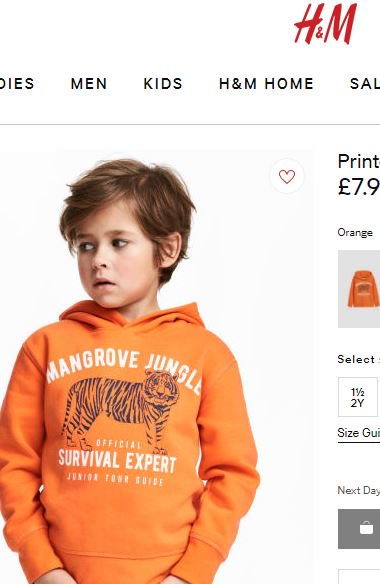 H&M under fire for using Black Kid Model to promote Hoodie with Racial Slur
