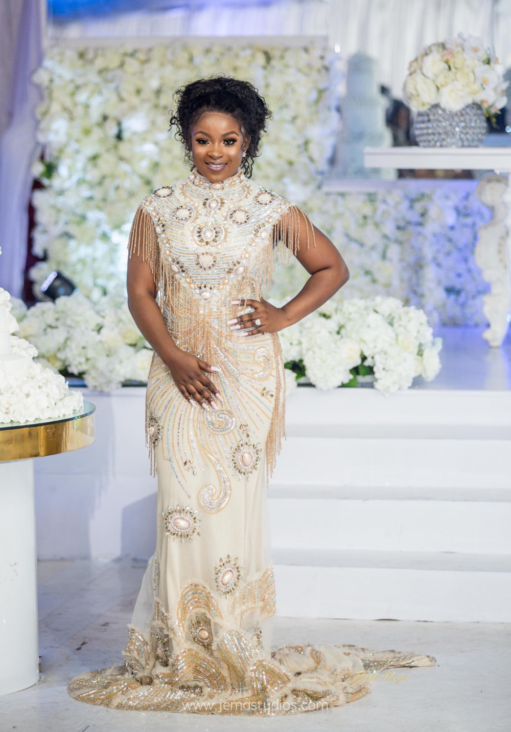 Sima And Kojos Spectacular Ghanaian Wedding Jema Studios