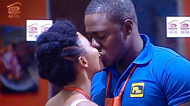 #BBNaija3 – Day 16: Ties that Bind, Bonded Kisses and More Highlights